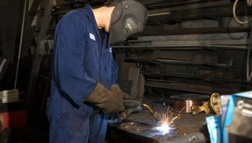 Proper safety procedures help prevent welding injuries.