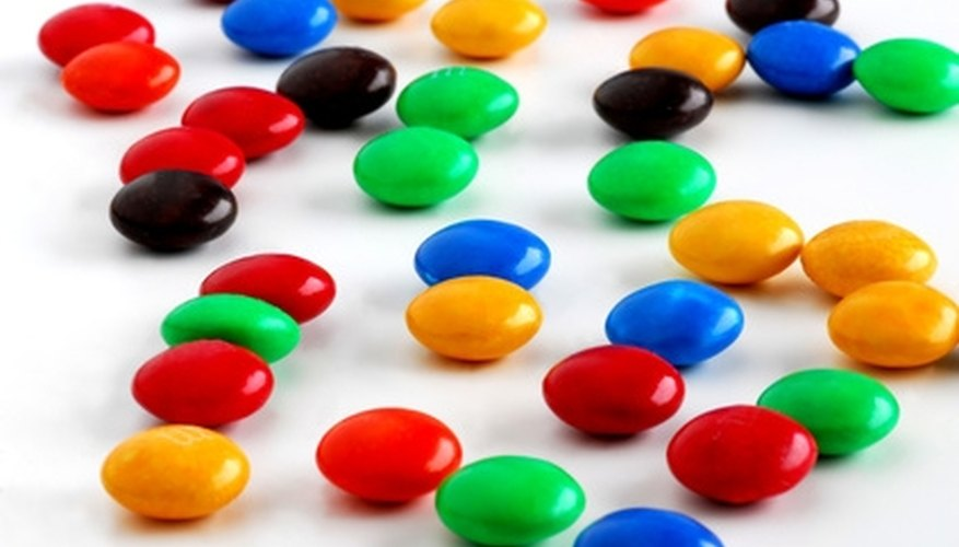 M&Ms can be used to help children learn math.