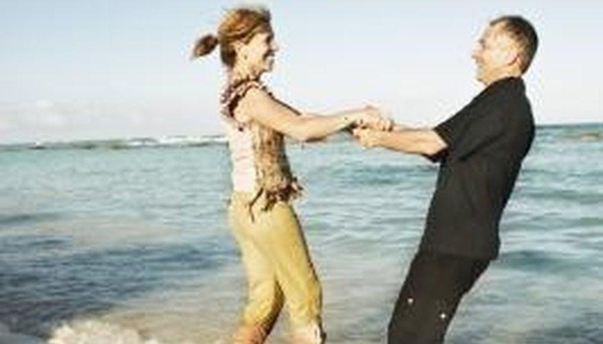 Dating an older man, a true peer relationship?