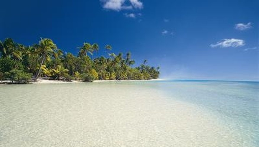 The Cook Islands are a peaceful, secluded paradise.