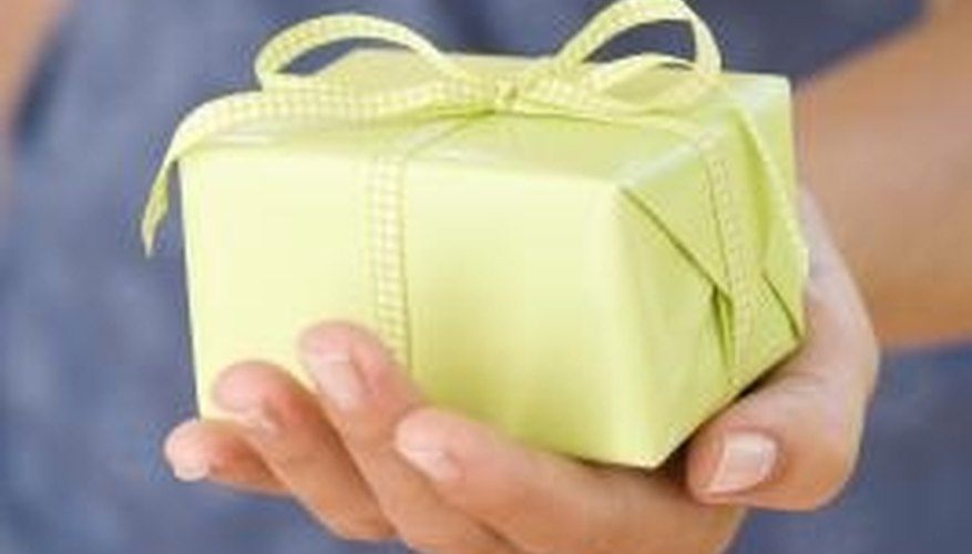 Women often have a difficult time selecting an anniversary gift.