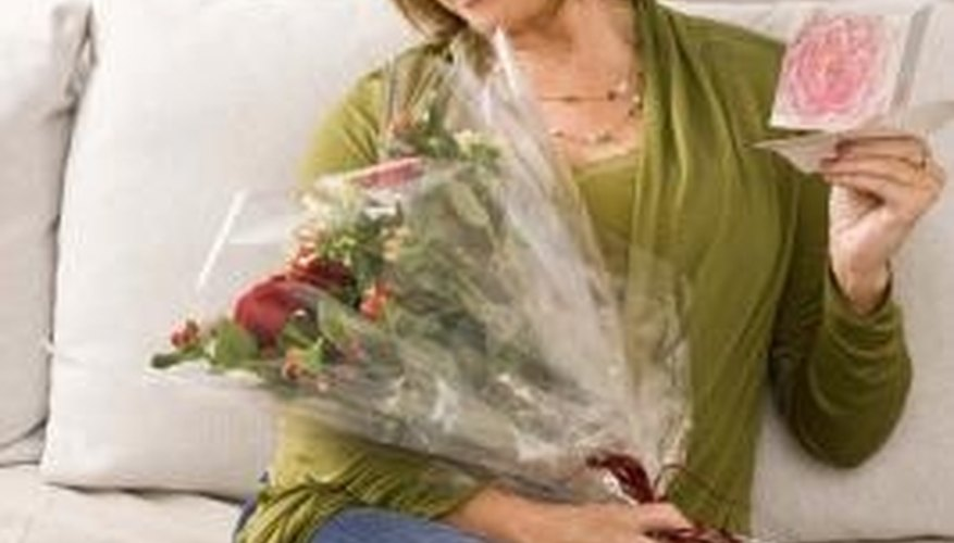 Send romantic gifts to express your feelings.