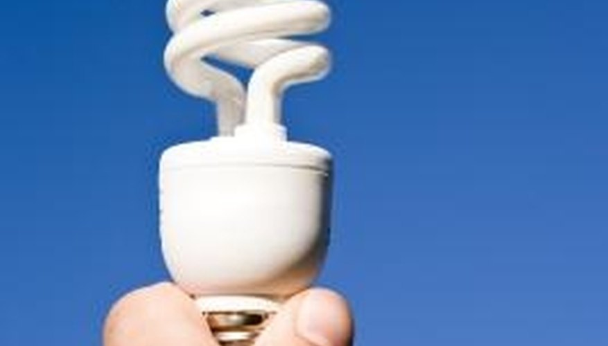 Tungsten is not used in energy efficient bulbs.