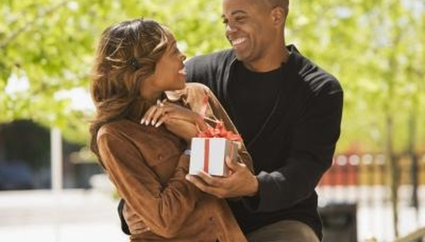 A romantic gift does not have to be expensive.