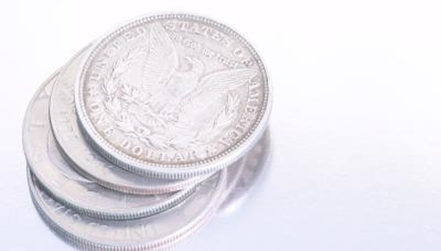 The Morgan dollar is one of the most beautiful silver U.S. coins.