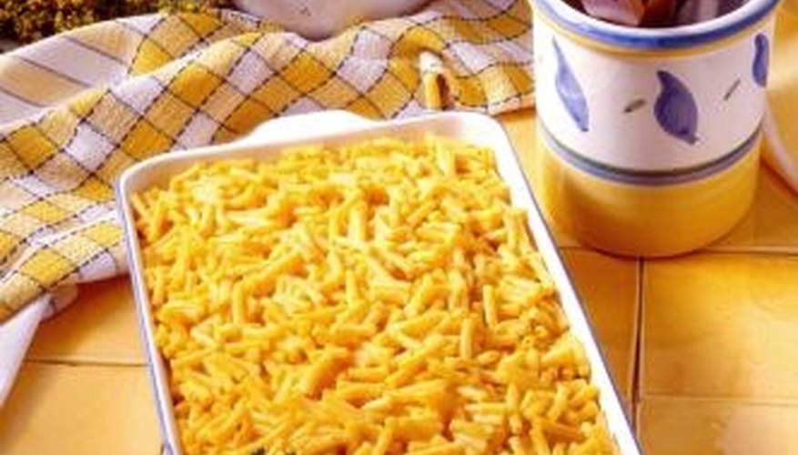 Even mac and cheese can be romantic if it's a well-known favorite.