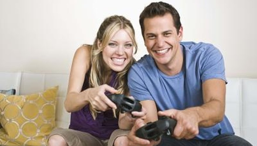 Video games for couples are a fun way to spend time together.