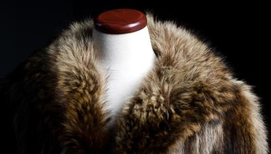 Fur coats must be professionally cleaned and stored to maintain their integrity.