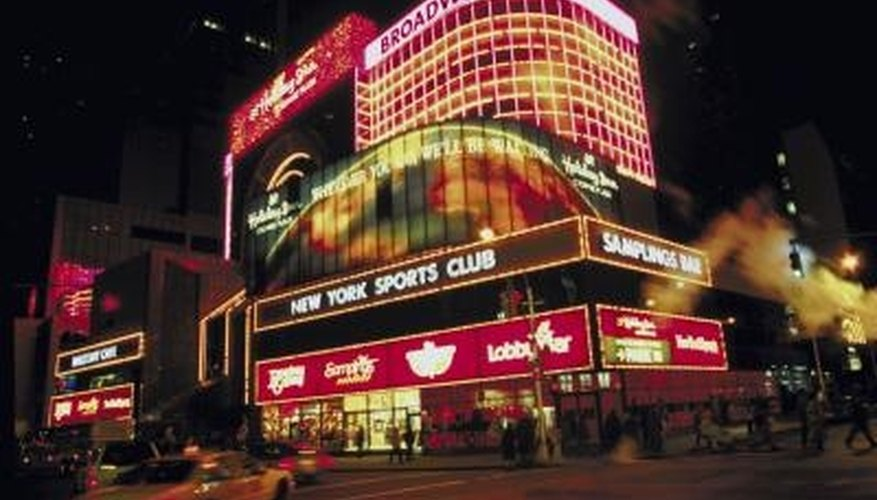 Dinner and a Broadway show are ideal for a romantic first date in New York City.