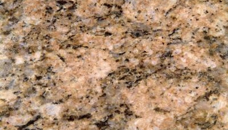 Granite mineralogy