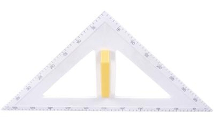 Kids can easily learn to calculate the area of a triangle.