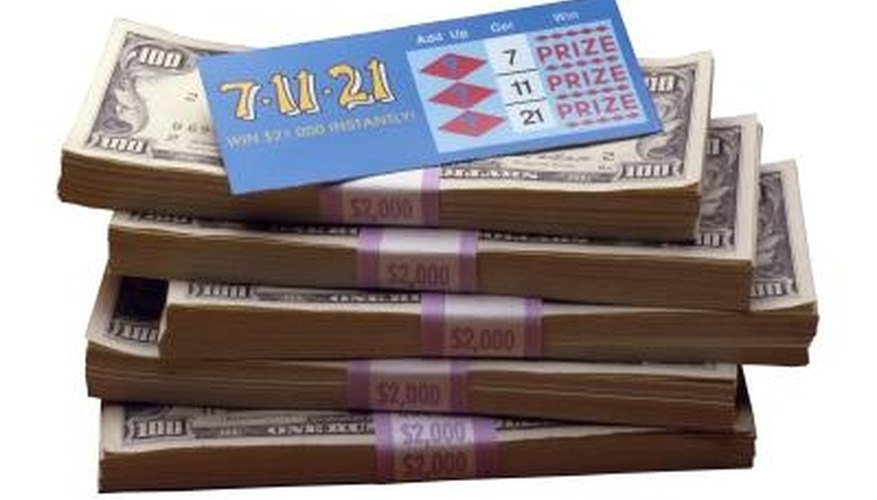 You can win money playing the Texas Mega lottery.