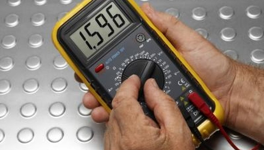 Unlike this digital multimeter, analog multimeters use a rotating dial to give sensitive readings.