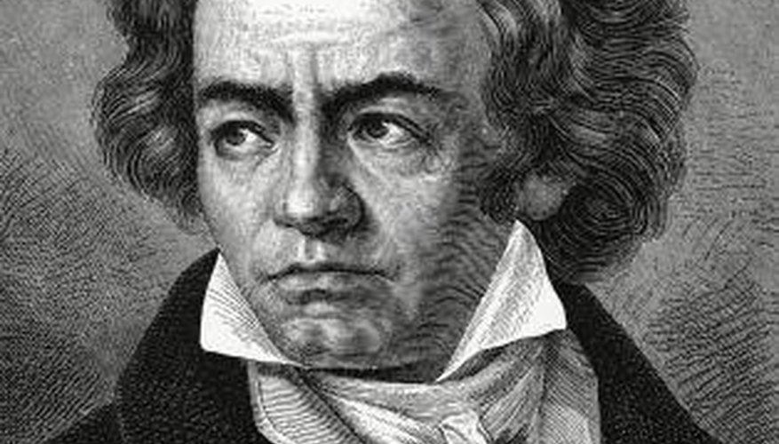 Composers like Beethoven used dissonance in their pieces.