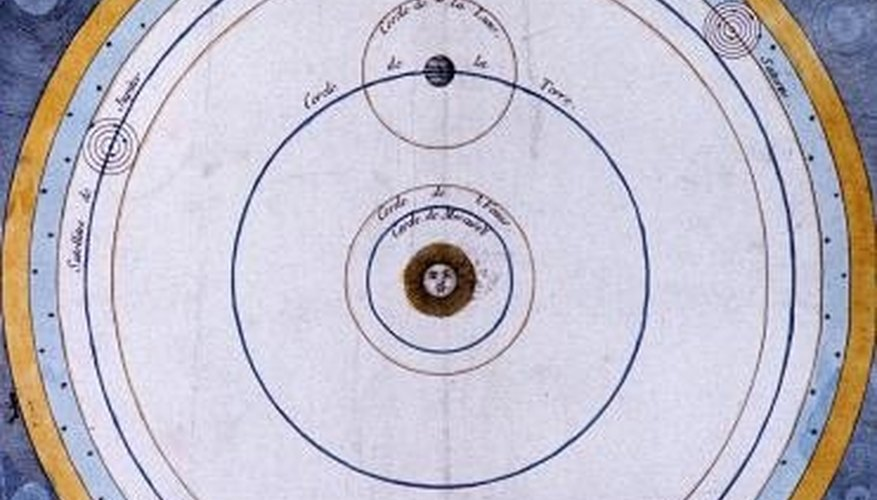 Astronomers have been making maps of the solar system for centuries.