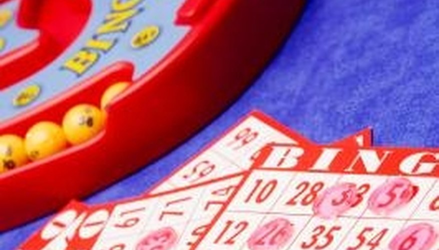 Bingo is a game of chance played in Bingo Halls and other places.
