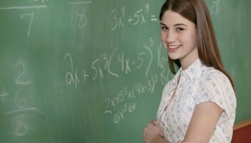A polynomial is in standard form if each term has a lower degree than the term before it.