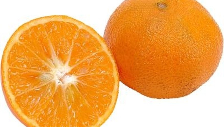 Use oranges to teach beginning fractions.