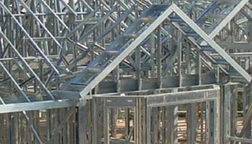 Steel framing is a strong and economical replacement for wood.