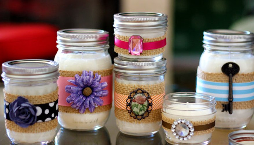 DIY Container Candles