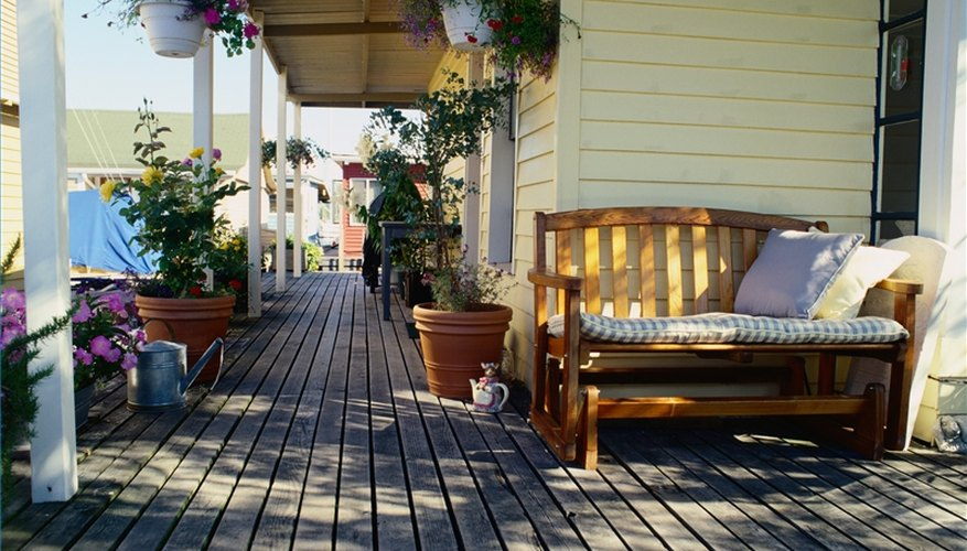 Install a Ledger Board for a Deck
