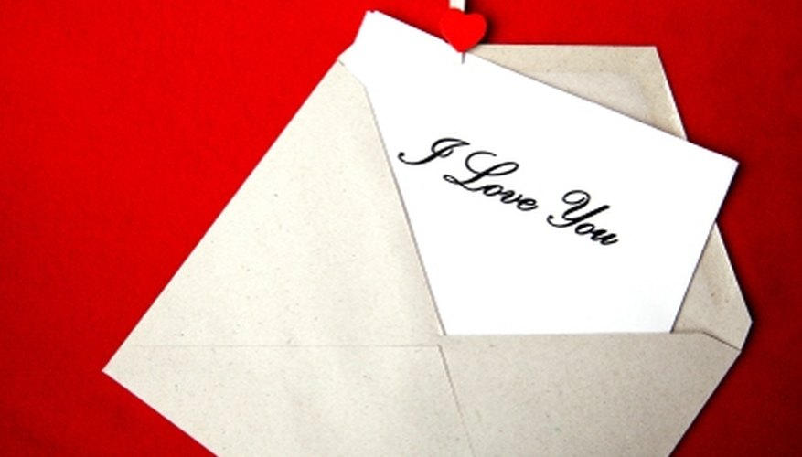 how to deliver a love letter