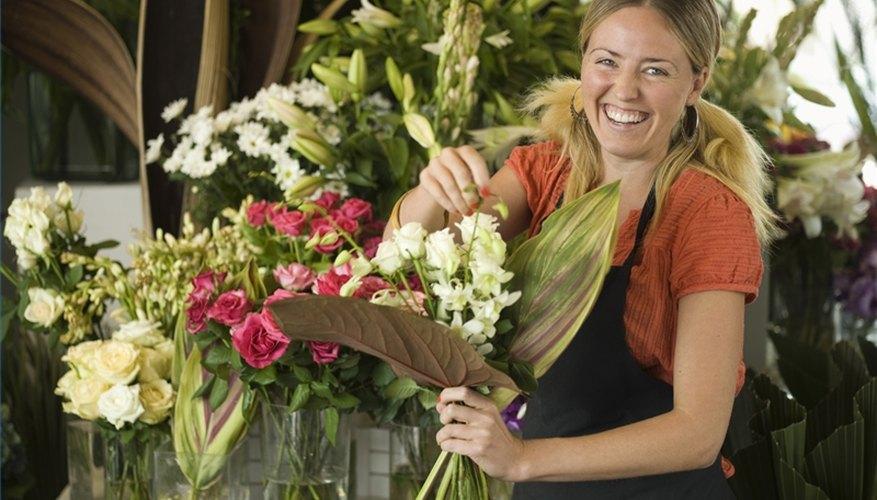 Arrange Fresh Flowers