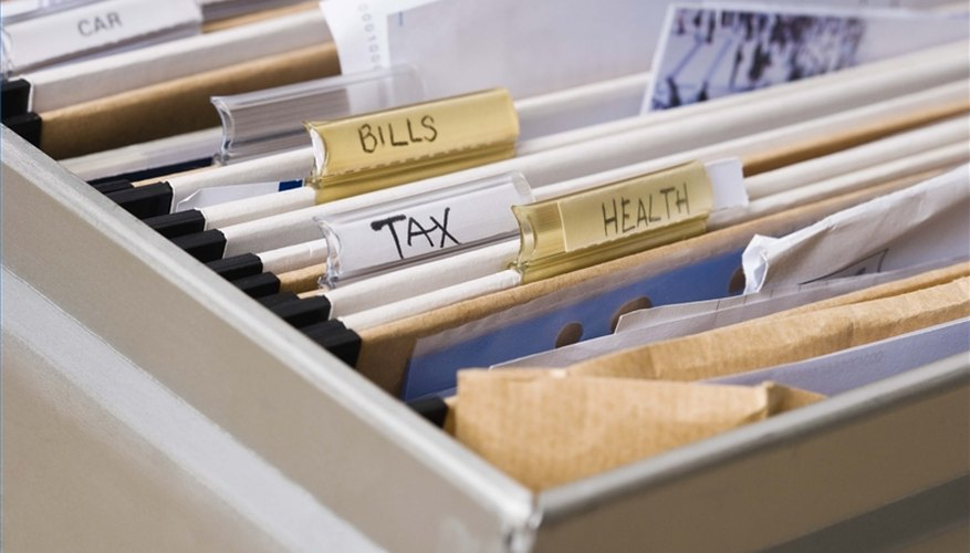 Create a Home Filing System