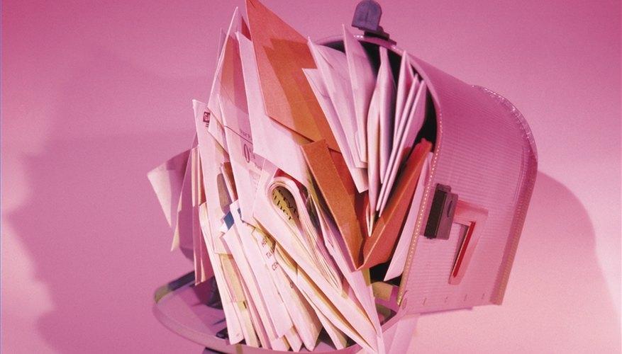 Get Off Junk Mail Lists