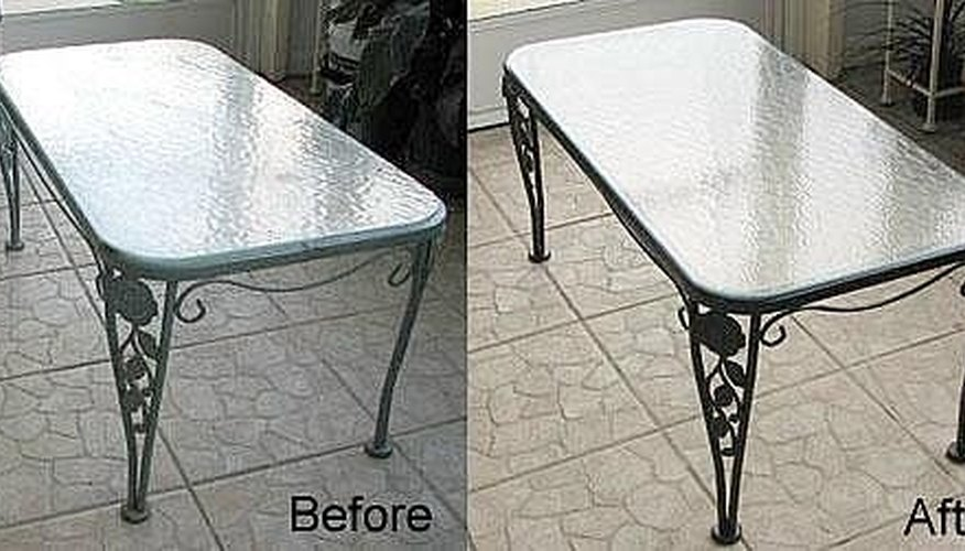 How To Repaint A Metal Table Homesteady