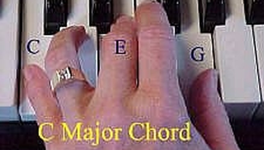 How to do left hand chords on the piano EASILY | Our Pastimes