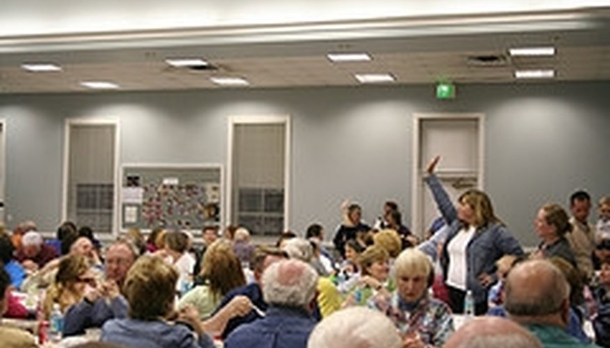 Run a Mock Auction for a Nursing Home Activity