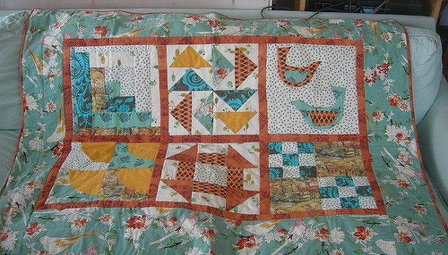 Sensational How To Cover A Sofa With A Quilt Our Pastimes Machost Co Dining Chair Design Ideas Machostcouk