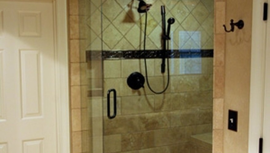 Get the look you want with a custom shower.
