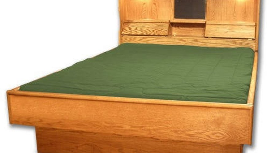 Build a King Size Waterbed