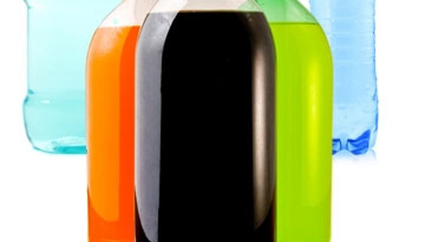 Soft drink bottles, water bottles, mouthwash bottles, salad dressing containers.