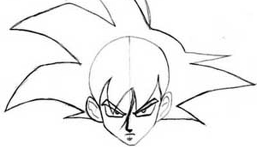 Goku's Spiky Hair