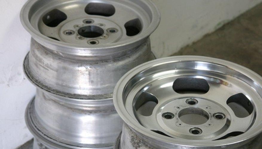 Clean Aluminum MAG Wheels