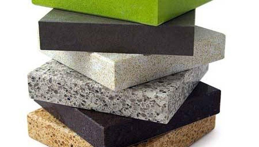 Different modern countertop material