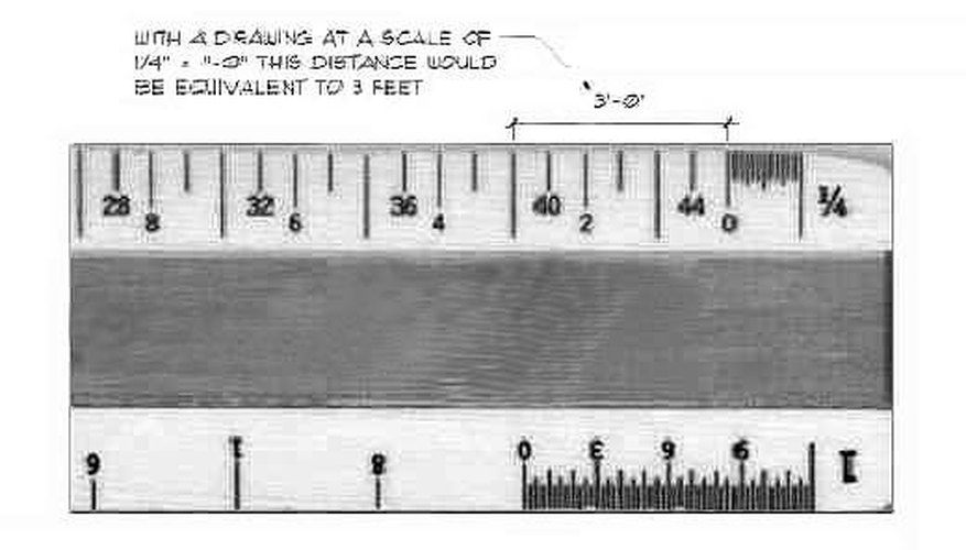 How Does A Scale Ruler Work Sciencing