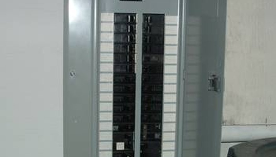 Turn off the power at the fuse box.