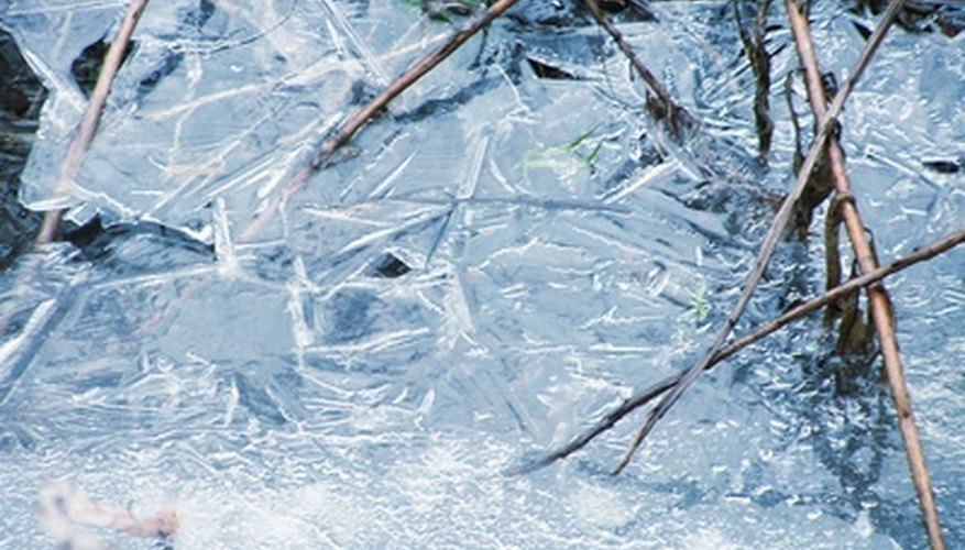Unlike almost all other compounds, water expands when it freezes.