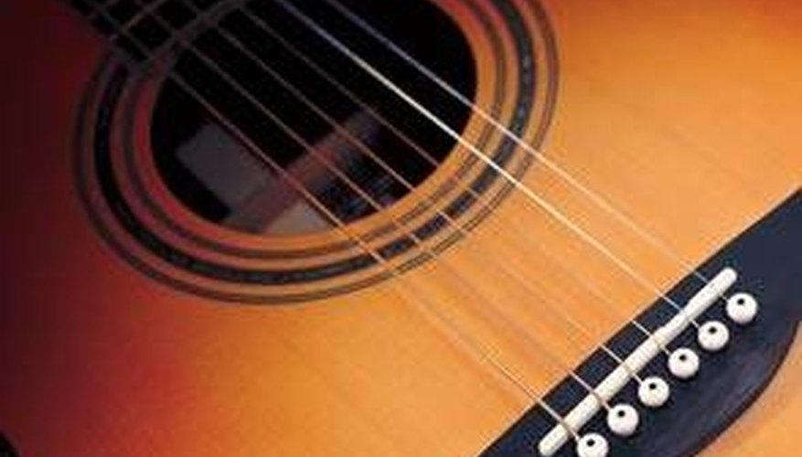 A rich, full acoustic sound can be difficult to obtain on an electric guitar.