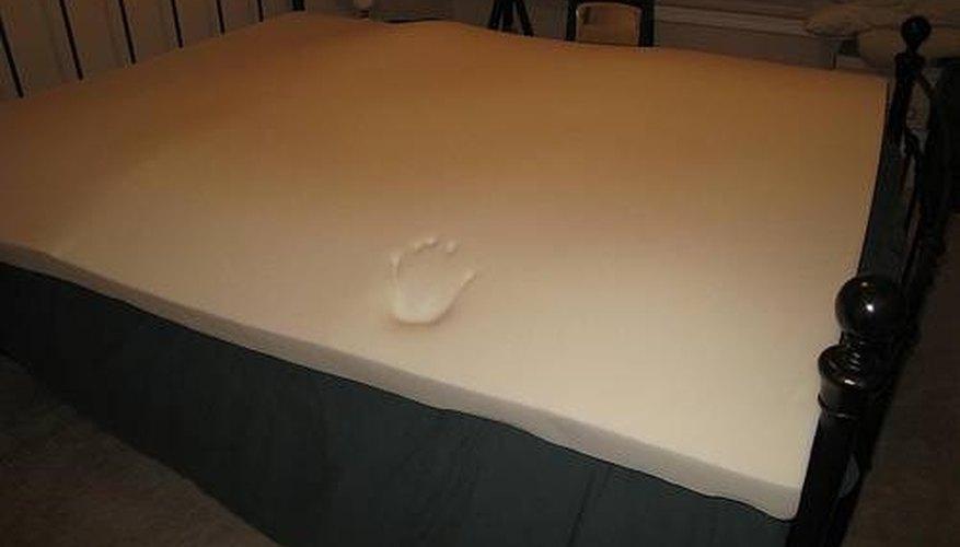 Clean Memory Foam Bedding