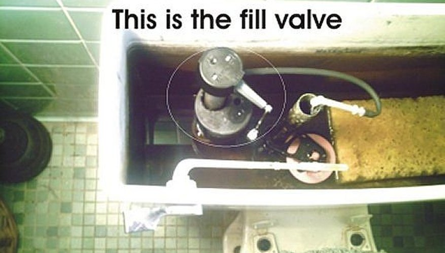 Click on picture to make larger. This is the location of the toilet  fill valve