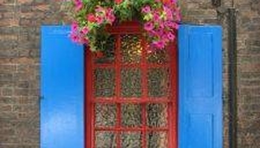 Build Decorative Exterior Shutters