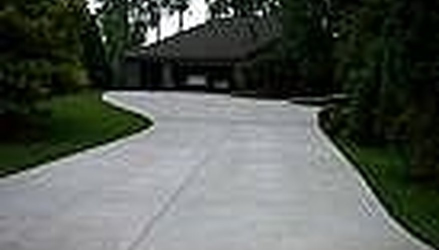 Light Colored Paving