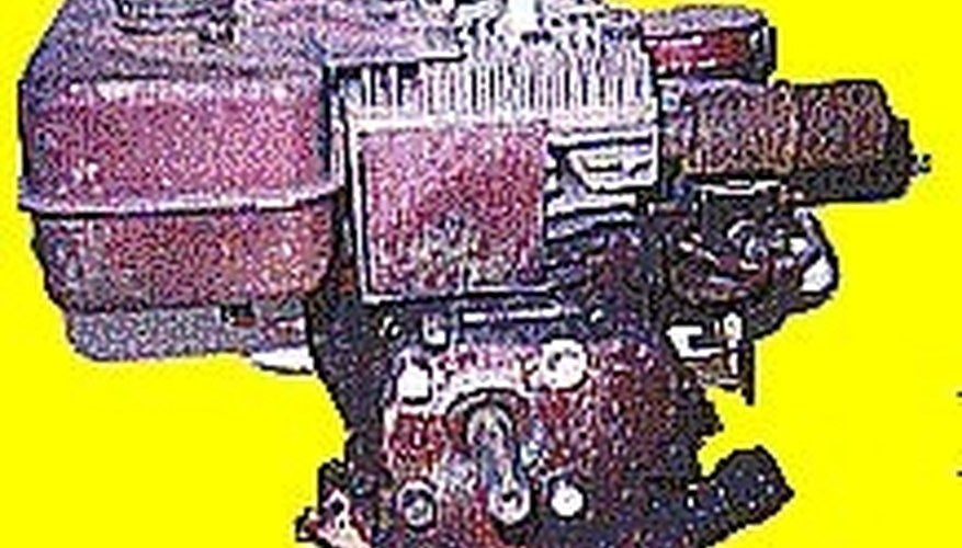 Horizontal Shaft Engine