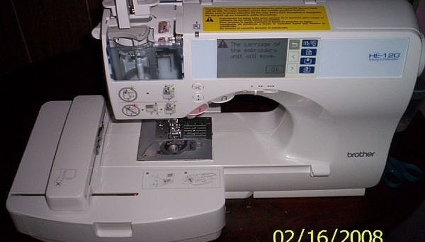 my brother sewing/embroidery machine