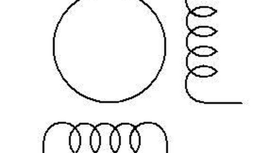 Four wire stepper motor